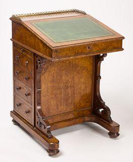 Davenport Burlwood Desk