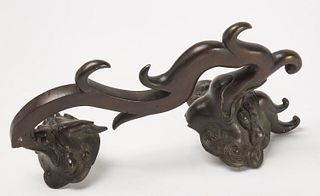 Early bronze Chinese Handle