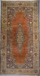 Fine Palace Size Semi Antique Persian Carpet