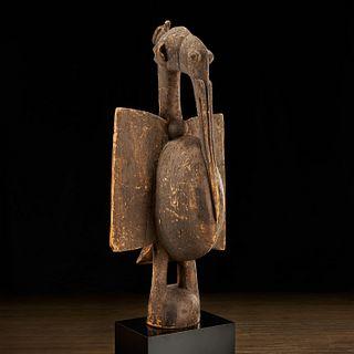 Senufo Peoples, large bird, ex-Parke-Bernet