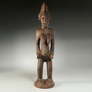 Senufo Peoples, large female figure, ex-museum