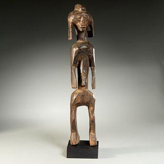 Mumuye Peoples, female figure, ex-museum