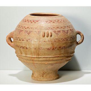Bozo/Somono large terracotta storage vessel