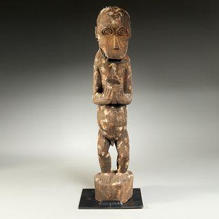 Baule Peoples, large Gbekre monkey, ex-museum