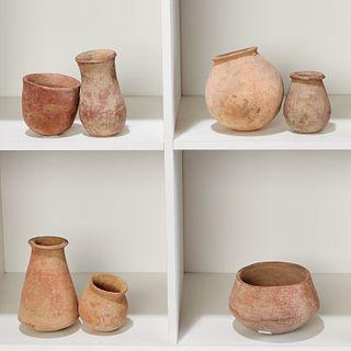 Djenne Culture, (7) small terracotta pots