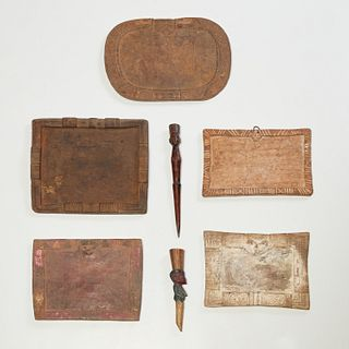 Yoruba Peoples, divination boards and tappers