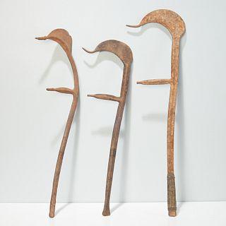 Kapsiki/Fali Peoples, iron throwing knives