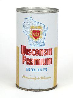 1965 Wisconsin Premium Beer 12oz Flat Top Can 146-23