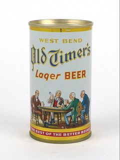 1962 Old Timers Lager Beer 12oz Flat Top Can 108-30