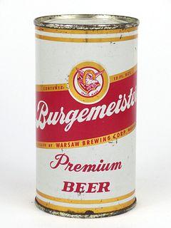 1958 Burgemeister Premium Beer 12oz Flat Top Can 46-08