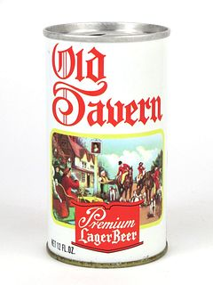 1968 Old Tavern Lager Beer  12oz Tab Top Can T102-31