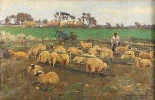 EDWARD GEORGE HOBLEY (BRITISH, 1866-1916).