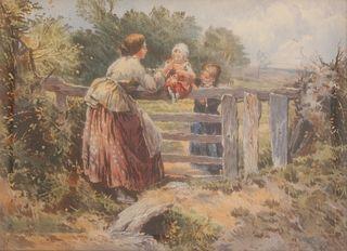 MYLES BIRKET FOSTER (BRITISH, 1825-1899).