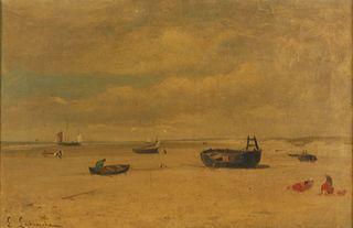 LOUIS LATOUCHE (FRENCH, 1829-1884).