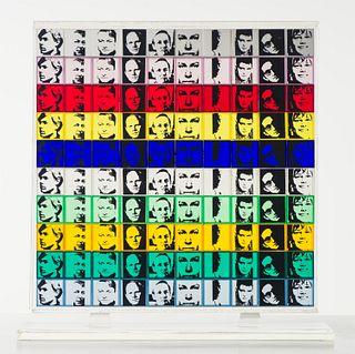 Andy Warhol  Portraits of the Artists (F&S.II.17)
