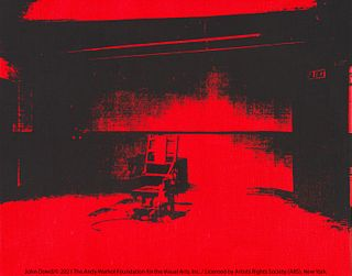 Andy Warhol  Little Electric Chair