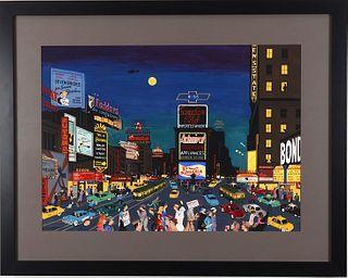 BARBARA CORRIGAN, Times Square 1954