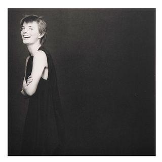 """ROBERTH MAPPLETHORPE """"Molissa Fenley, 1983."""". 1939 Siglo XX. Fotograbado. Impreso en Japón , años 80. Sin enmarcar."""