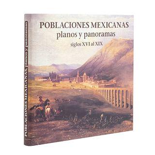 Mayer, Roberto L. Poblaciones Mexicanas Planos y Panoramas Siglos XVI al XIX. México: Smurfit Cartón y Papel de México, 1998.