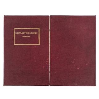 Ortíz Macedo, Luis. Monumentos de Méjico. México: Fomento Cultural Banamex, 1981. 12 reproducciones. facsimilar.