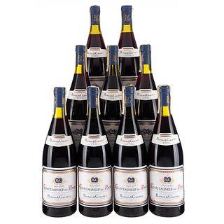 Châteauneuf-Du-Pape. Cosecha 1990. Barton & Guestier. En presentación de 750 ml. Piezas: 9.