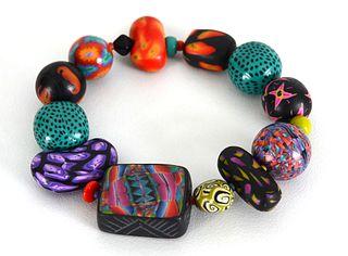 TONI M. CARDOZA, Bright Patterns Bracelet