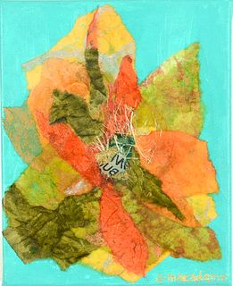 ANNETTE MACADAMS, Gathered Foliage