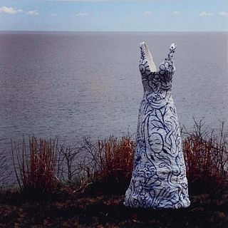 VIRGINIA FITZGERALD, lilith contemplates the oceans ....