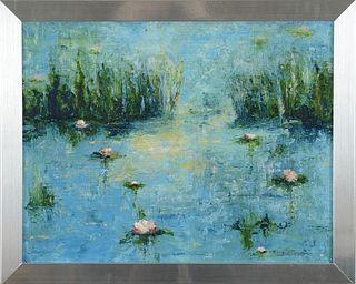 BARBARA CANNING, Pond Lilies