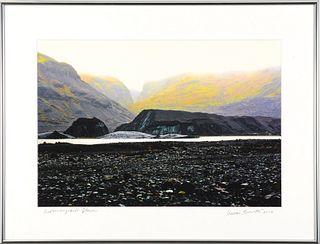 HERMAN B. BREWSTER, Sólheimajökull Glacier