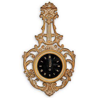Ornate German Wall Clock