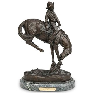 """After Frederic Remington """"Outlaw"""" Bronze"""