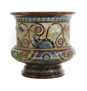 A Doulton Lambeth stoneware jardinière,