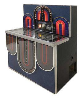 A Seeburg 'Mardi Gras' jukebox,