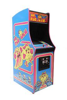 'Ms. Pac-Man' arcade machine,