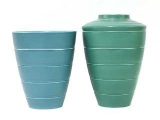 Two Wedgwood vases,