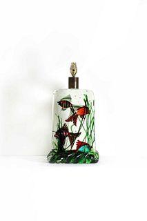 A Murano glass lamp base,