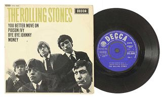 A signed Rolling Stones EP,