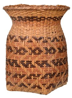 Cherokee River Cane Gathering Basket