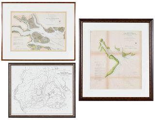 Three South Carolina Maps
