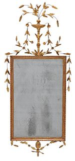 Fine Adam Carved and Giltwood Mirror