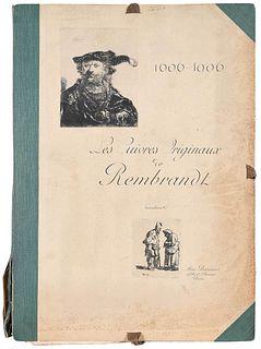 "Rare Edition, ""Les Cuivres de Rembrandt"""