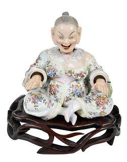 Ernst Bohne Sohne Porcelain Nodder Figure