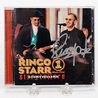 "RINGO STARR ""VH1 STORYTELLERS"" AUTOGRAPHED CD"