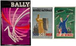 French Advertising Poster Assortment