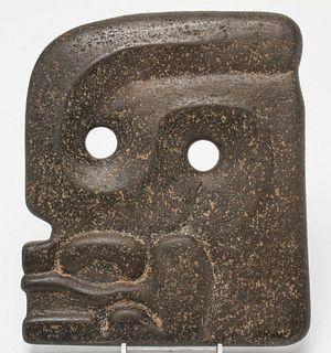 Pre-Columbian Mayan Guatemalan Hacha Carved Stone