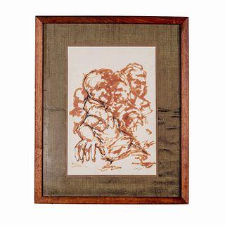 Signature or Artist Unknown. (Mid-century)