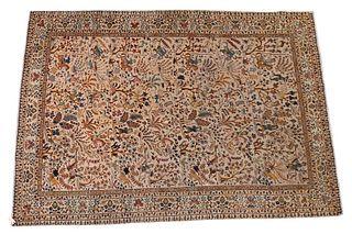 """Tabriz Oriental Animal Rug 7' 3"""" x 10' 3"""""""