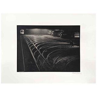 GABRIEL FIGUEROA, Víctimas del pecado, 1957,  Firmada y fechada 90, Fotoserigrafía 8/300, 56 x 76.5 cm, con sello. | GABRIEL FIGUEROA, Víctimas del pe