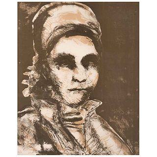 FRANCISCO CORZAS, Sin título, Firmada y fechada 93 Litografía H C / Q, 51 x 41 cm | FRANCISCO CORZAS, Untitled, Signed and dated 93 Lithography H C /
